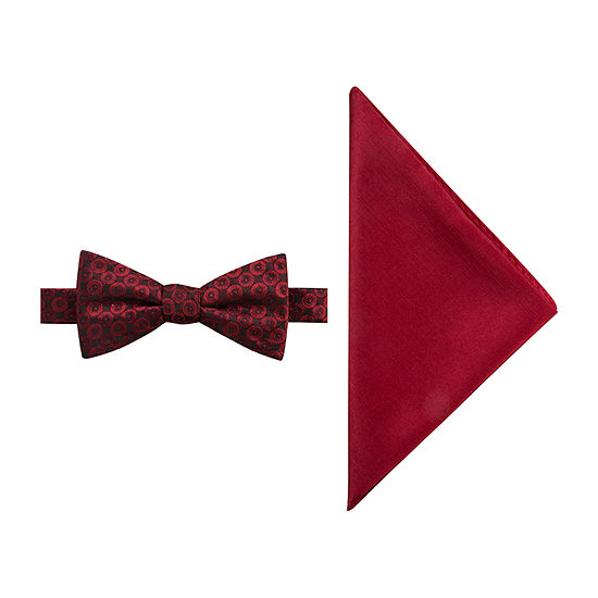 JF J.Ferrar Geometric Bow Tie Set