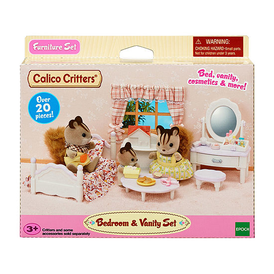 Calico Critters Bedroom And Vanity Set