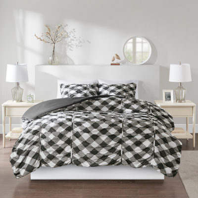 Intelligent Design Charlotte Plaid Duvet Cover Set