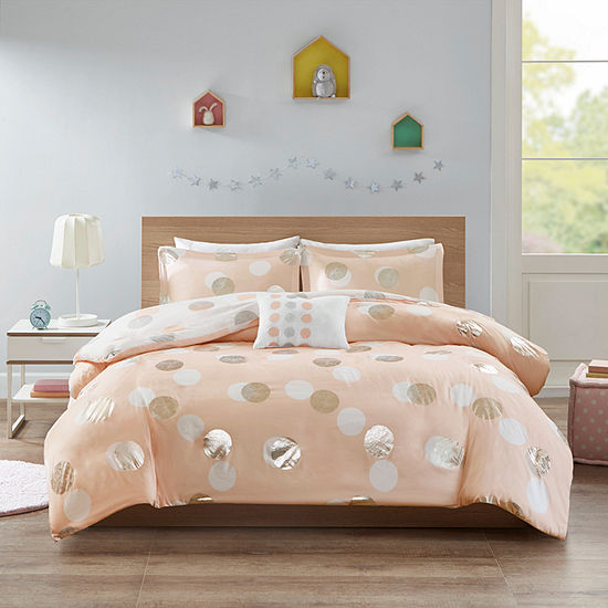 Mi Zone Evelyn Reversible Duvet Cover Set