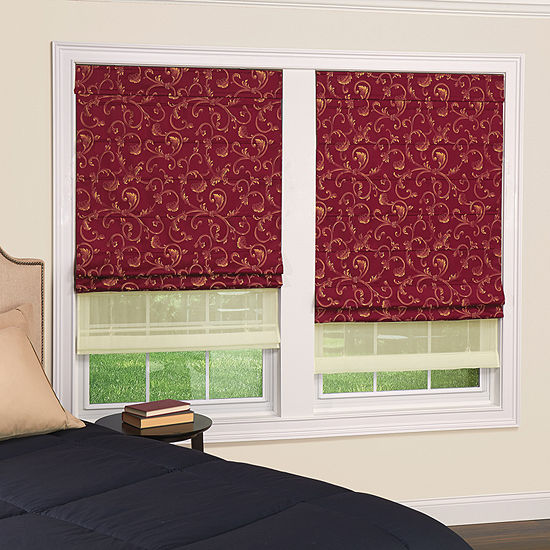 JCPenney Home Spencer Double Custom Cordless Light-Filtering Roman Shade