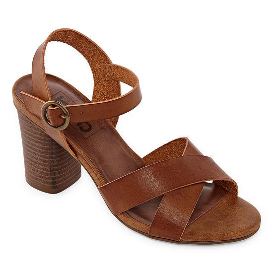 Pop Womens Baskina Heeled Sandals