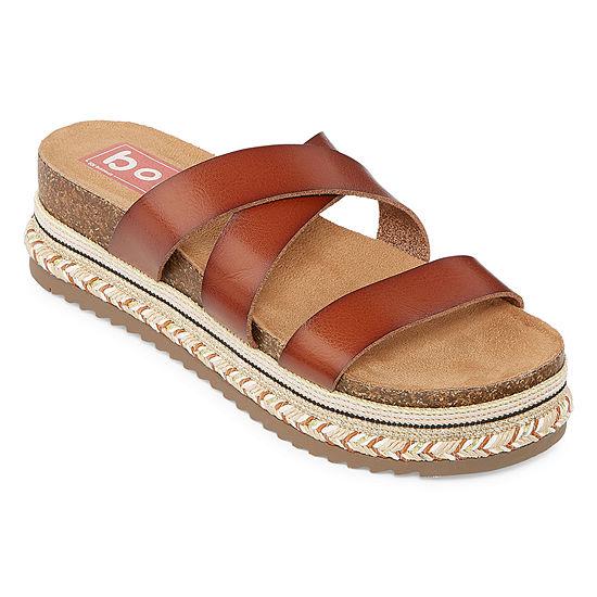 Pop Womens Fanatic Flat Sandals