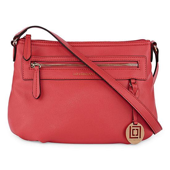 01df36706b9 Liz Claiborne Jess Top Zip Shoulder Bag JCPenney