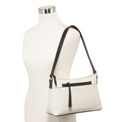 Liz Claiborne Callie Top Zip Shoulder Bag
