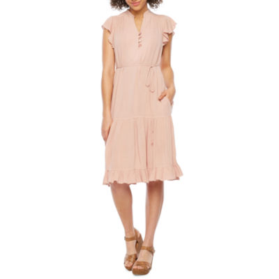 Vivi By Violet Weekend Sleeveless Fit & Flare Dress