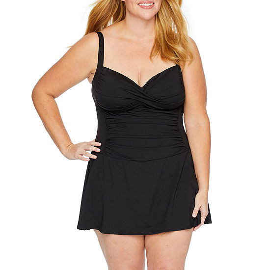 Liz Claiborne Swim Dress Plus