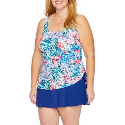 Azul by Maxine of Hollywood Swim Dress Plus