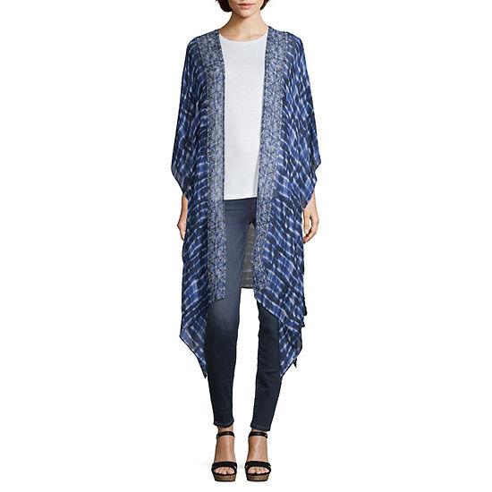 Mixit Side Tie Kimono Wrap