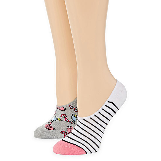 Mixit 2 Pair Knit Liner Socks - Womens