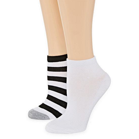 Mixit Pillow Sole 2 Pair Quarter Socks - Womens