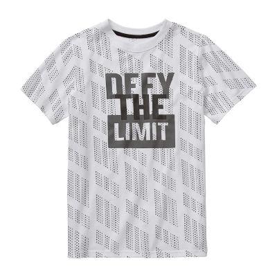 Xersion - Little Kid / Big Kid Boys Crew Neck Short Sleeve Graphic T-Shirt