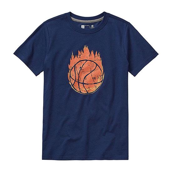 Xersion Boys Crew Neck Short Sleeve Graphic T-Shirt - Little Kid / Big Kid