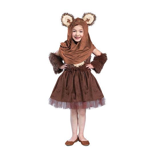 Girls Classic Star Wars Wicket Dress Costume
