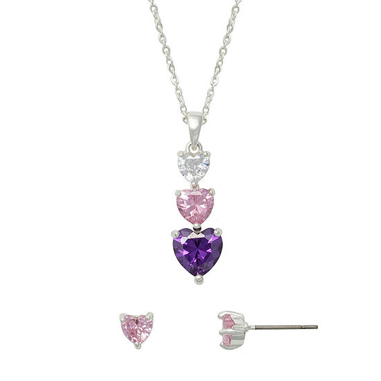 Mixit 2-pc. Heart Jewelry Set