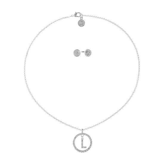 Liz Claiborne 2-pc. Round Jewelry Set