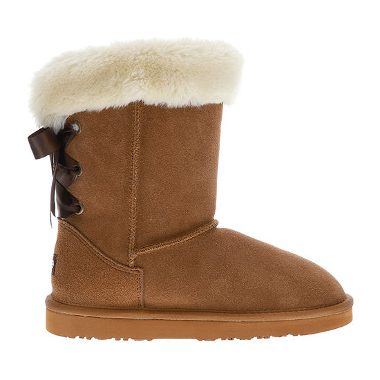 Lamo Womens Audrey Winter Boots Flat Heel