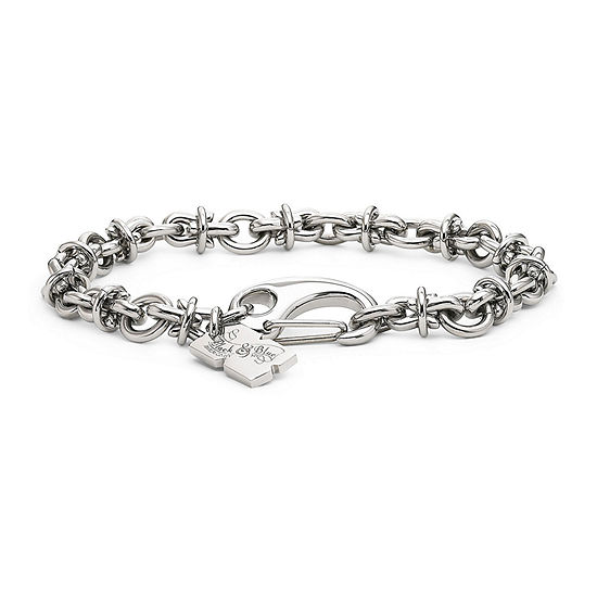 Men's Barbed Wire Bracelet Stainless Steel