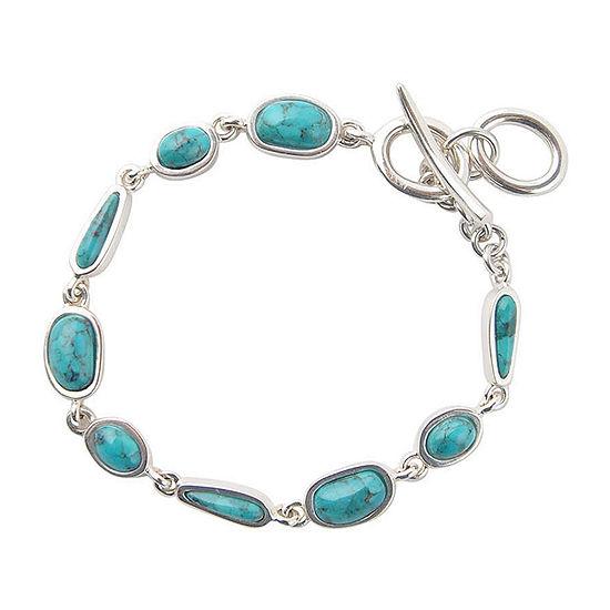 Silver Elements by Barse Sterling Silver 7.5 Inch Solid Link Link Bracelet