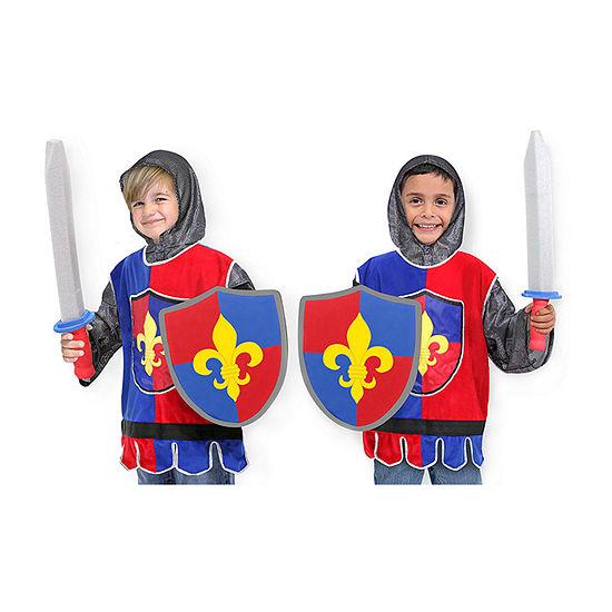 Melissa & Doug Knight Role Play Set Unisex Costume