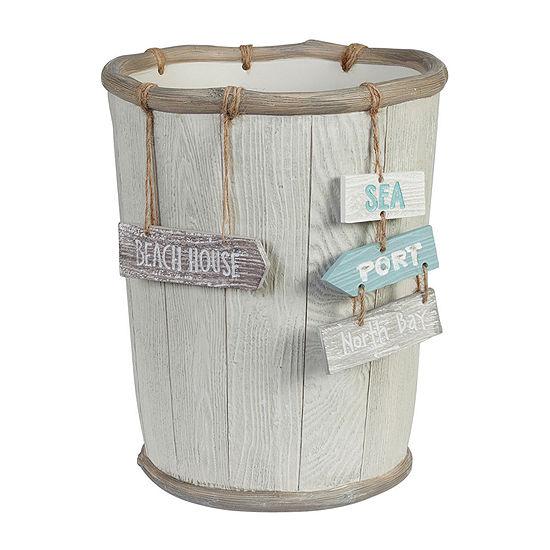 Creative Bath Driftwood Waste Basket