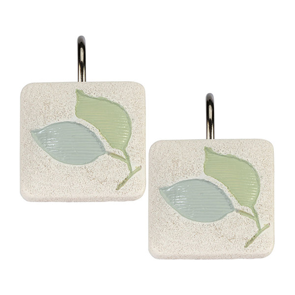 Creative Bath Springtime Shower Curtain Hooks