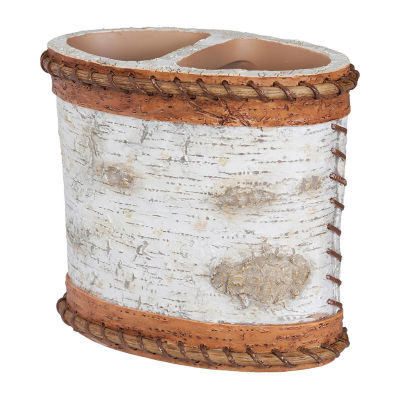 Hautman Brothers White Birch Toothbrush Holder