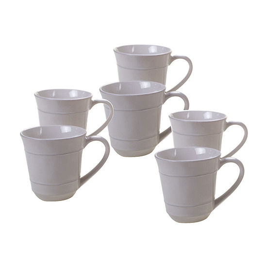 Certified International 4-Pc. Orbit Coffee Mug