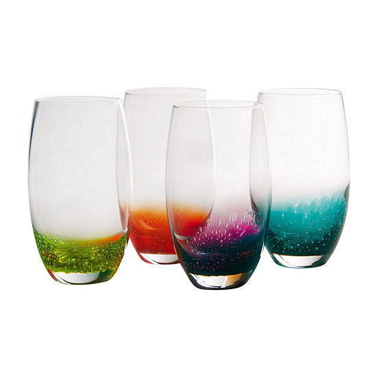 Fizzy Set of 4 Highball Glasses
