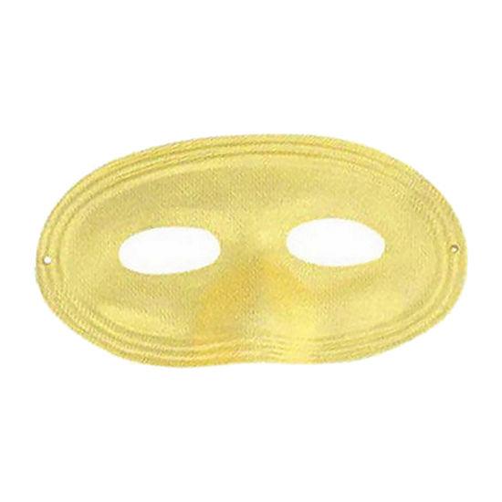 Yellow Domino Mask Dress Up Accessory