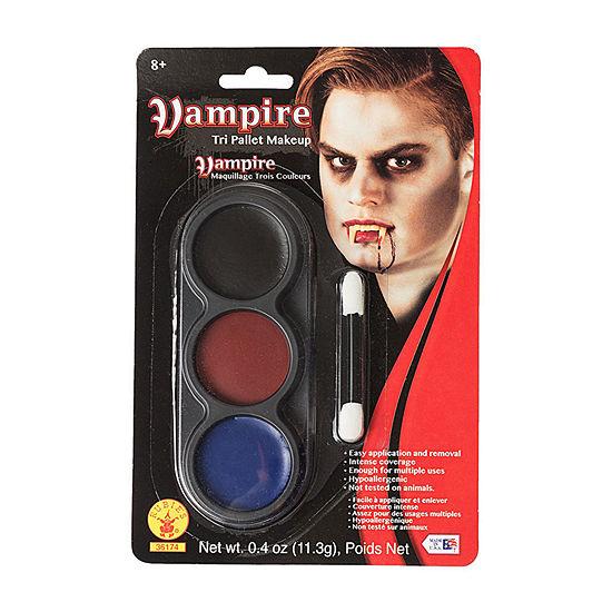 Tri Color Pallettes Vampire Makeup Kit