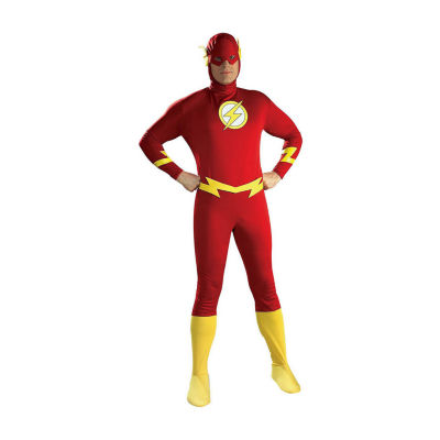 DC Comics Flash Halloween Costume Men's Large