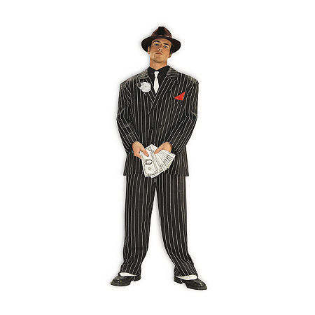 Adult Chicago Gangster Costume Costume Costume, One Size , Multiple Colors
