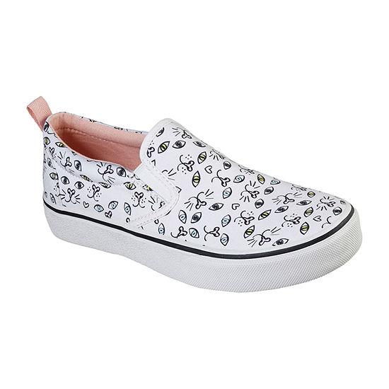 Skechers Bobs Womens Marley Jr Picatso Closed Toe Slip-on Shoe