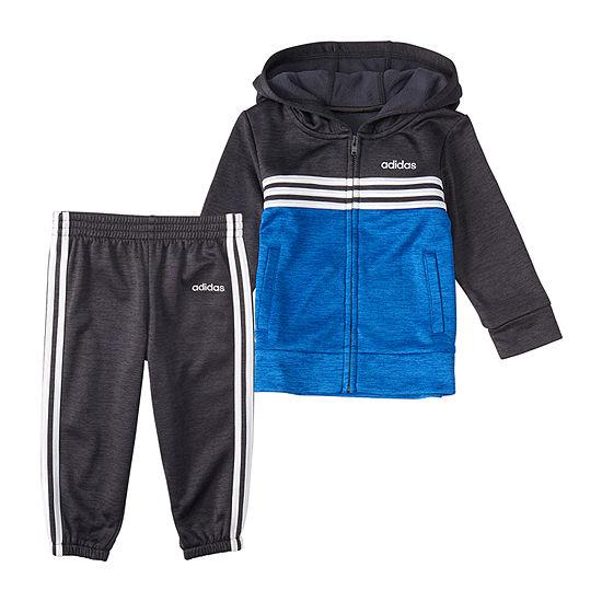 adidas Boys 2-pc. Logo Pant Set - Toddler