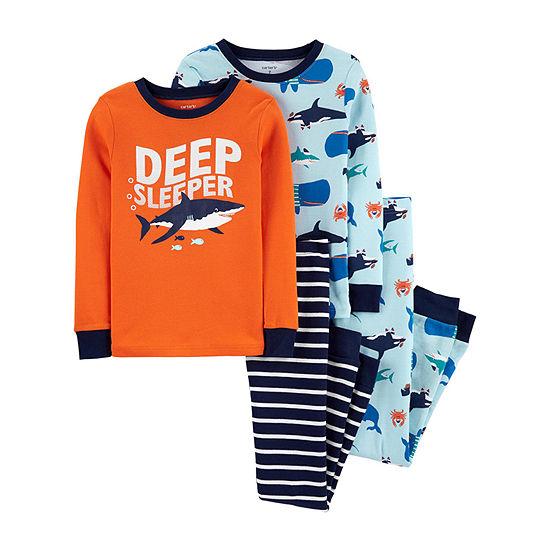 Carter's Little Kid / Big Kid Boys 4-pc. Pajama Set