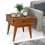Simpli Home Draper End Table