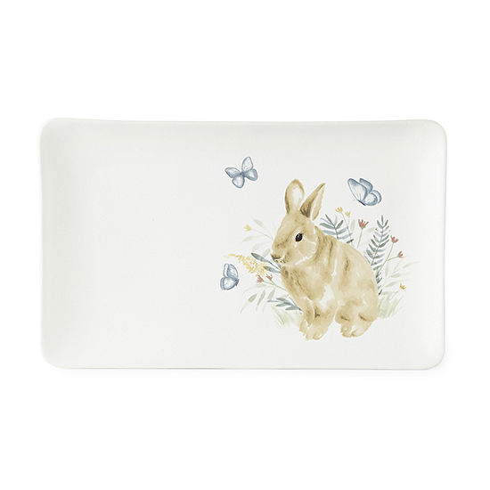 Jcp Bunny Serving Tray