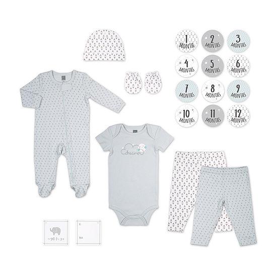 The Peanutshell 20pc Baby Boys Baby Clothing Set