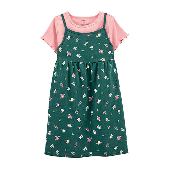 Carter's Little Girls Short Sleeve 2-pc. Dress Set