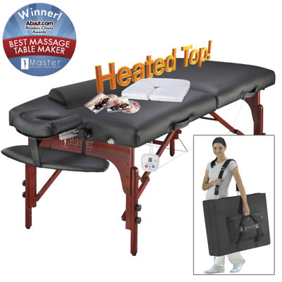 "Master® Massage Montclair Pro Therma-Top™ 31"" Heated Massage Table Set"