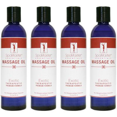Master® Massage 8-oz. 4-Pack Exotic Blend Massage Oil