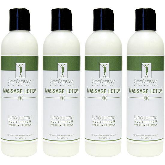 Master® Massage 4-Pack 8-oz. Unscented Massage Lotion