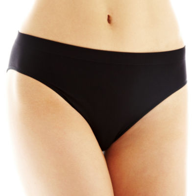 Ambrielle® Seamless High-Cut Panties