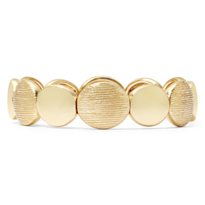 Monet® Gold-Tone Stretch Bracelet