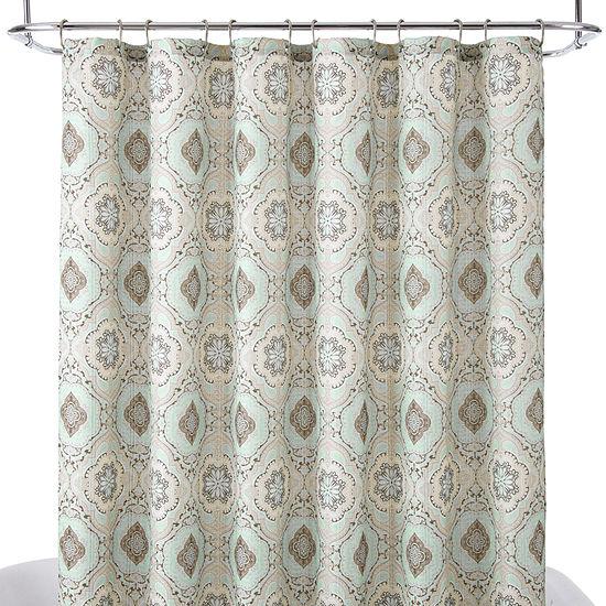 Royal VelvetR Monaco Shower Curtain