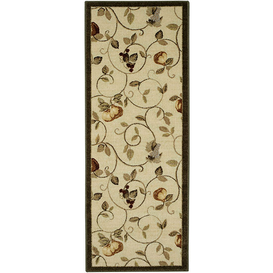 Wonderfruit Washable Runner Rug