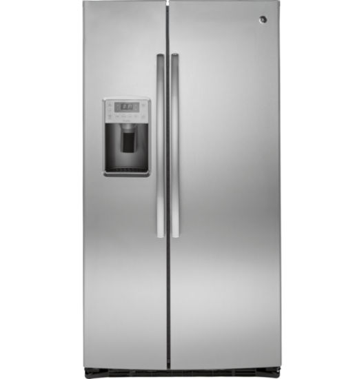 GE® ENERGY STAR®  Profile 25.4 cu. ft. Side-By-Side Refrigerator