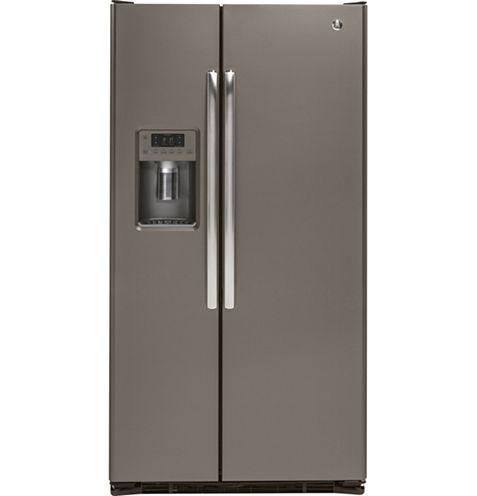 GE® 21.9 cu. ft. Counter Depth Side-By-Side Refrigerator
