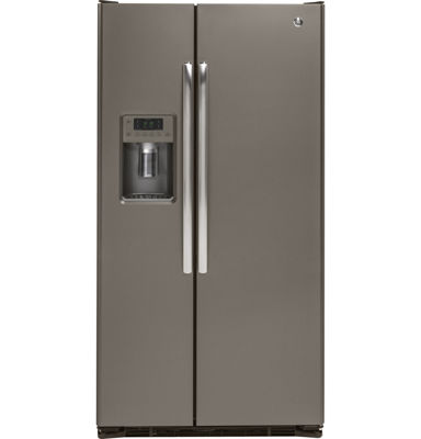GE® 21.9 cu. ft. Counter Depth Side-By-Side Refrigerator